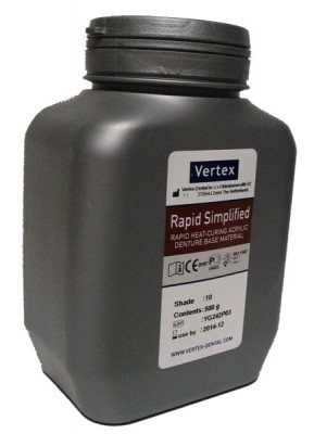 Vertex Rapid Simplified pulveris 0.5kg