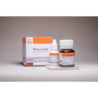Polyacrylin – Glass-ionomer cement for fixation